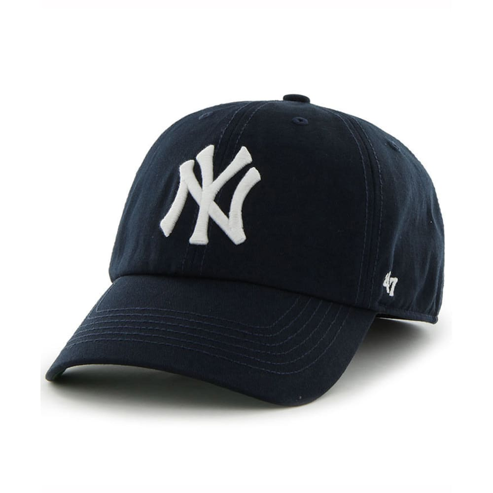 NEW YORK YANKEES Franchise Fitted Cap - NAVY