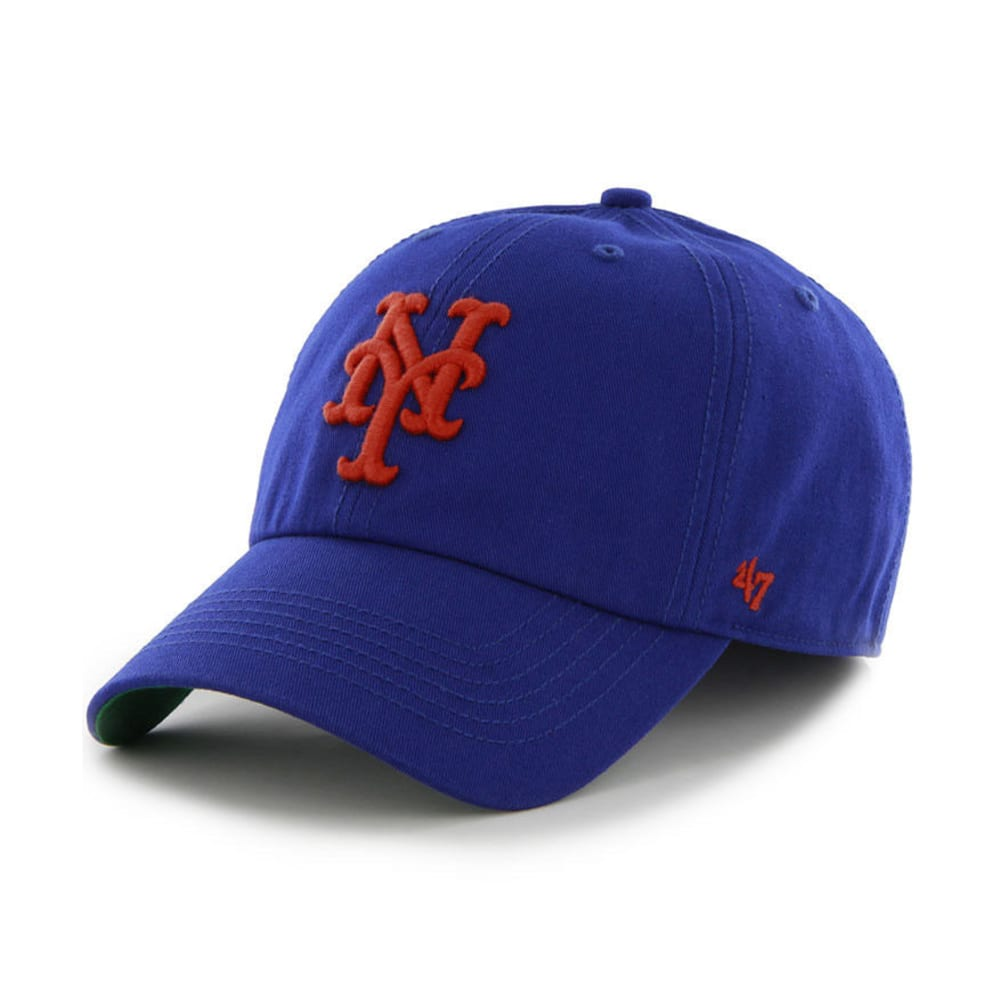 NEW YORK METS Franchise Fitted Hat - ROYAL BLUE