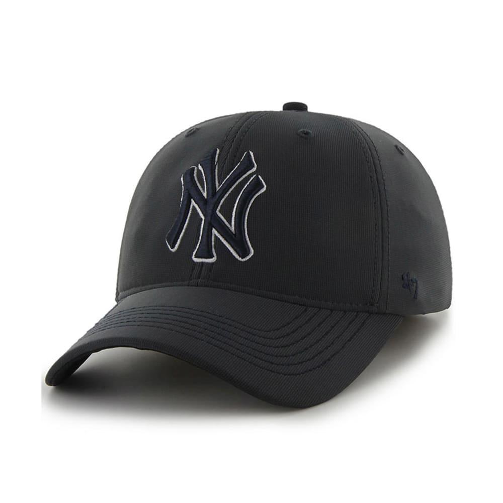NEW YORK YANKEES Game Time Closer Flex Fit Cap - GREY