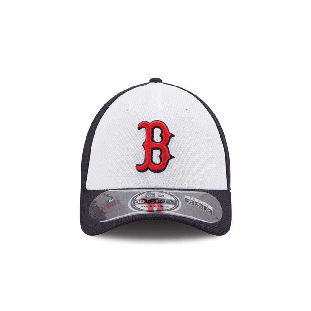 BOSTON RED SOX White Front Diamond Era® Cap - NAVY