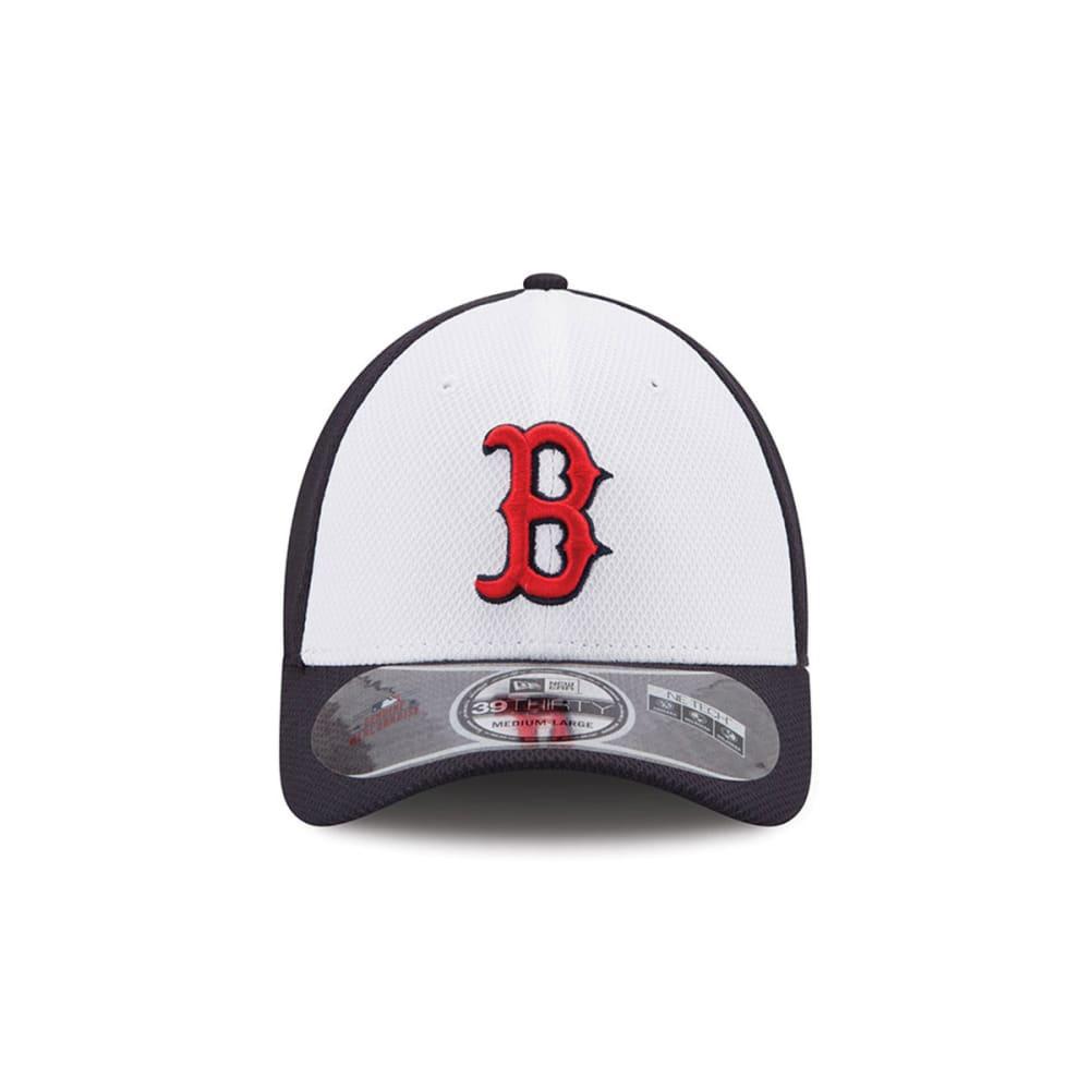 BOSTON RED SOX White Front Diamond Era® Cap - NAVY