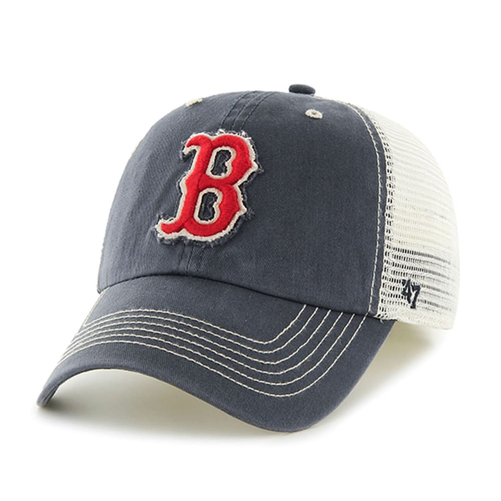 BOSTON RED SOX Taylor Closer Hat - NAVY/KHAKI