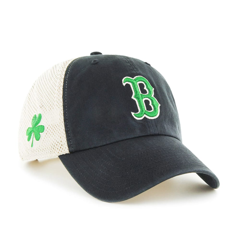 BOSTON RED SOX Mesh Adjustable Hat - BLACK