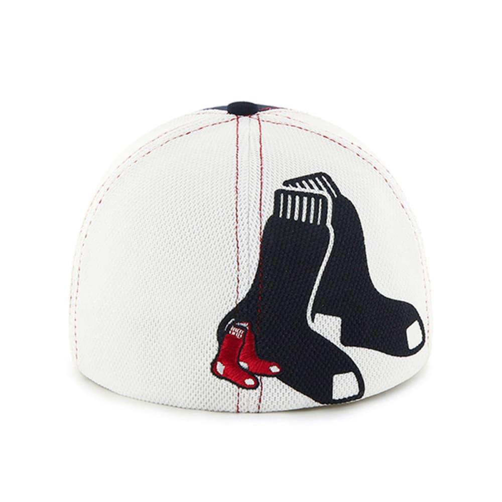 BOSTON RED SOX Reversal Team Color '47 Closer Hat - NAVY