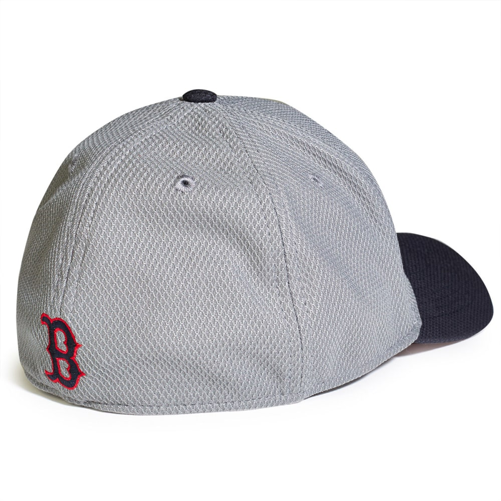 BOSTON RED SOX NEW ERA Tech Bevel Hat - GREY/NAVY