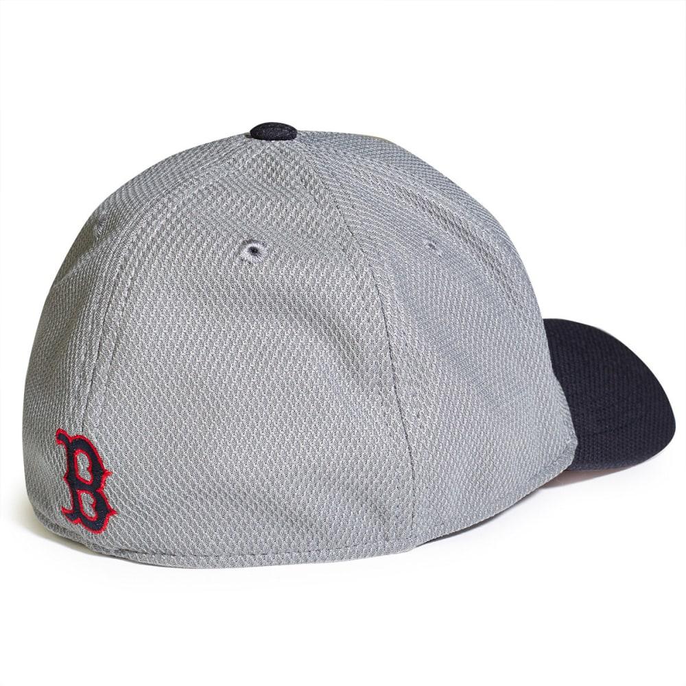 BOSTON RED SOX NEW ERA Tech Bevel Hat - GREY/NAVY