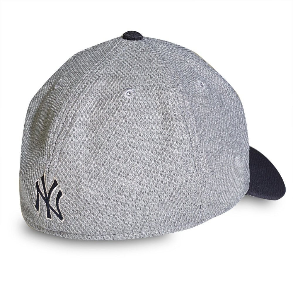 NEW YORK YANKEES NEW ERA Tech Bevel Hat - GREY/NAVY