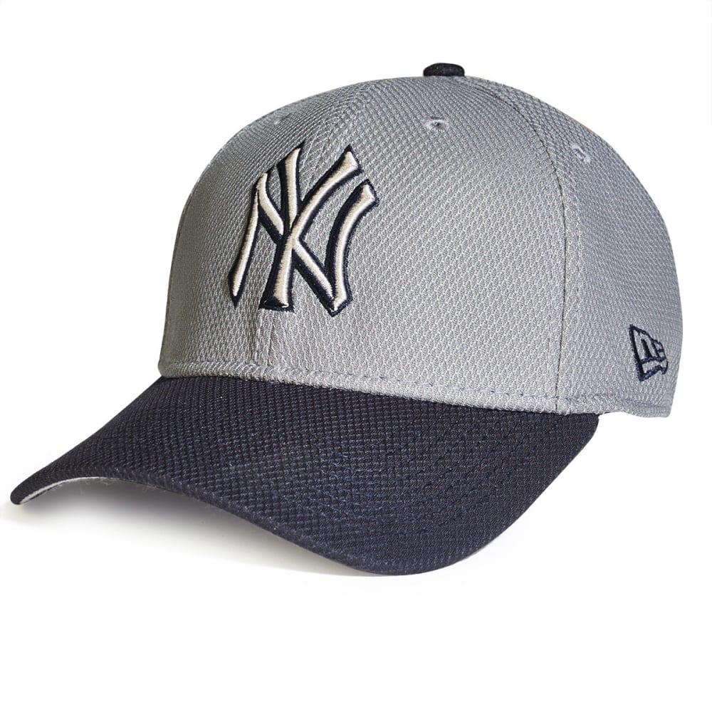 NEW YORK YANKEES NEW ERA Tech Bevel Hat - GREY/NAVY
