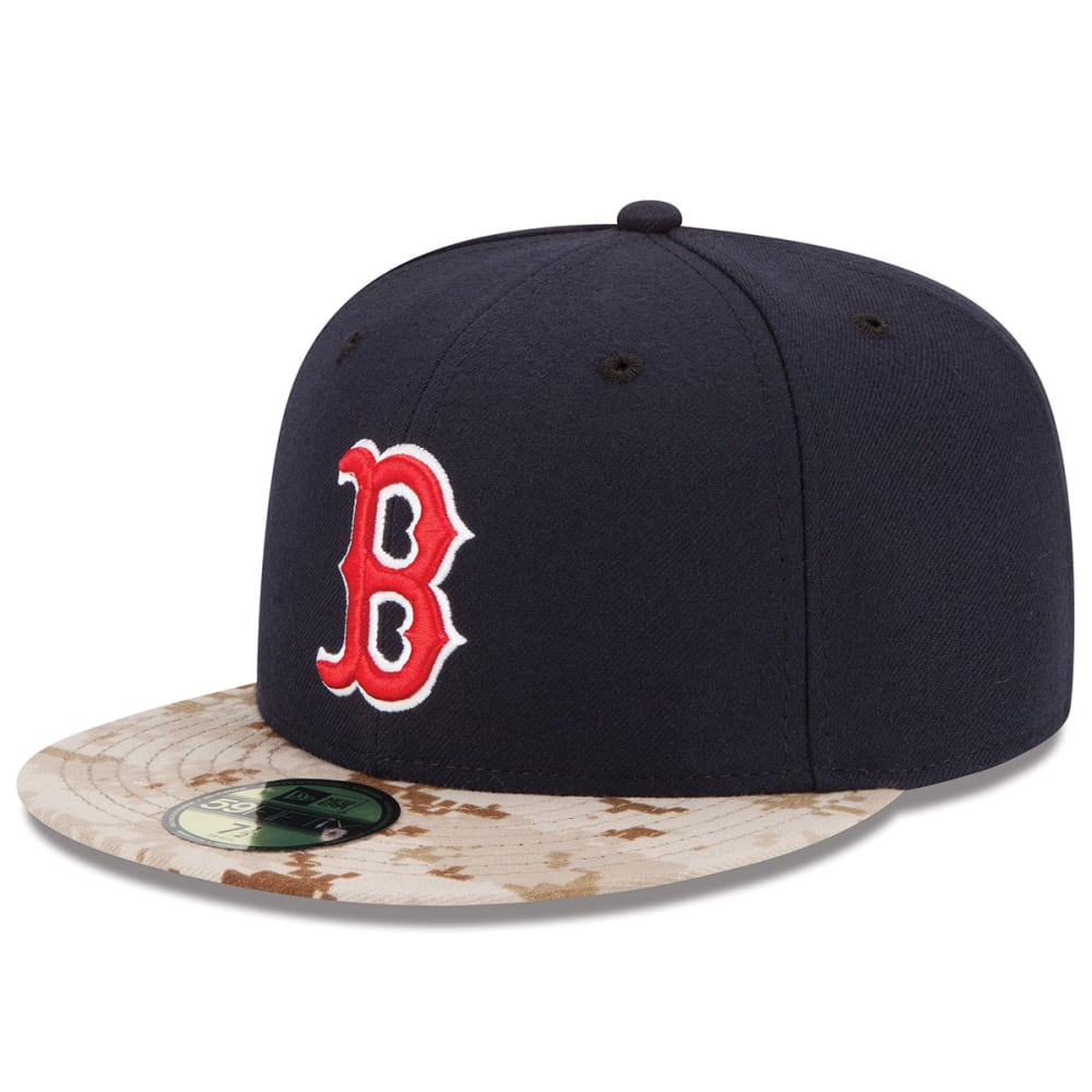 BOSTON RED SOX Memorial Day On-Field 59FIFTY Fitted Hat - NAVY/CAMO