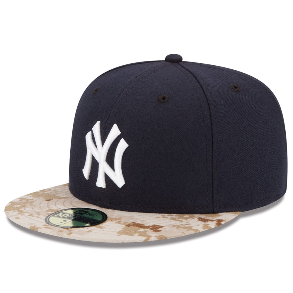 NEW YORK YANKEES Memorial Day On-Field 59FIFTY Fitted Hat - NAVY/CAMO