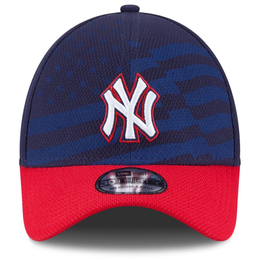 NEW YORK YANKEES Stars & Stripes Flex Fit Cap - NAVY