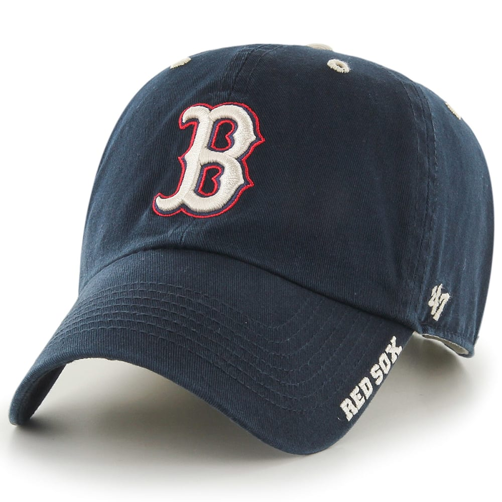 BOSTON RED SOX Ice Adjustable Hat , NAVY ,hi-res