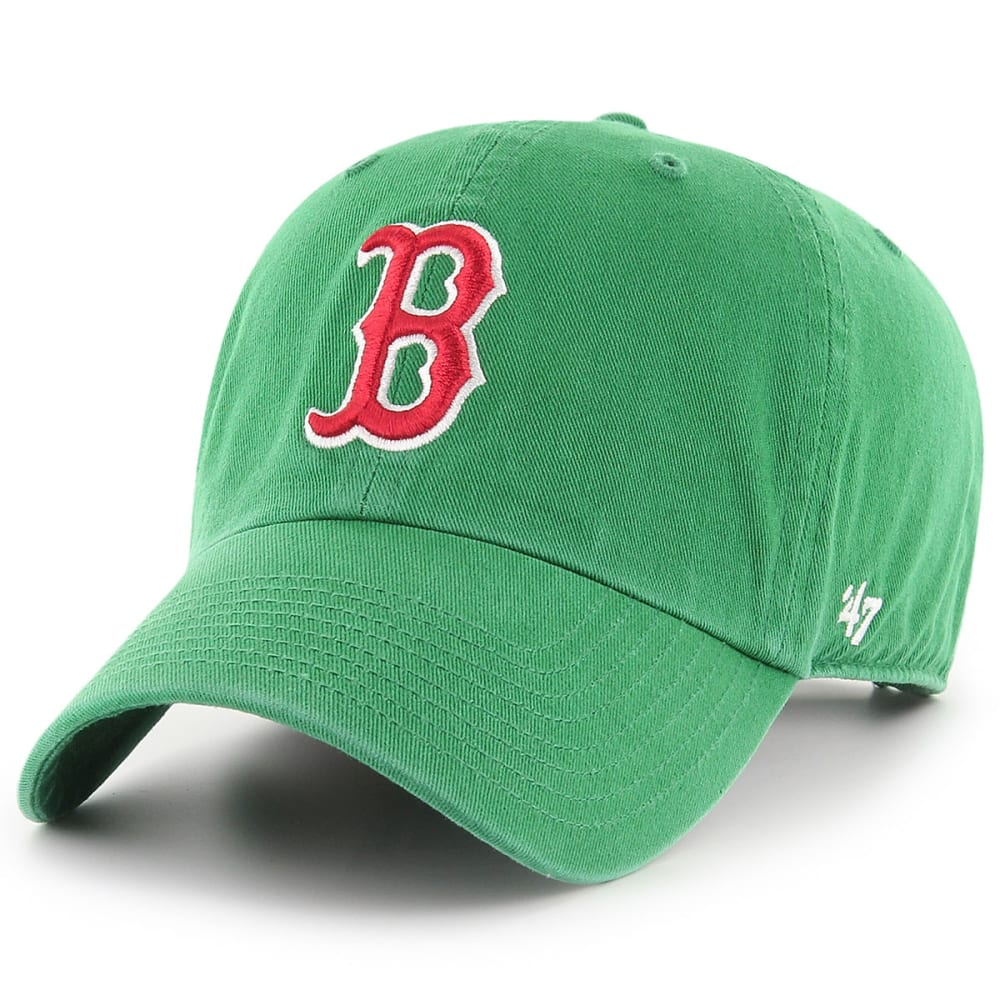 BOSTON RED SOX Green Clean Up Adjustable Cap - GREEN