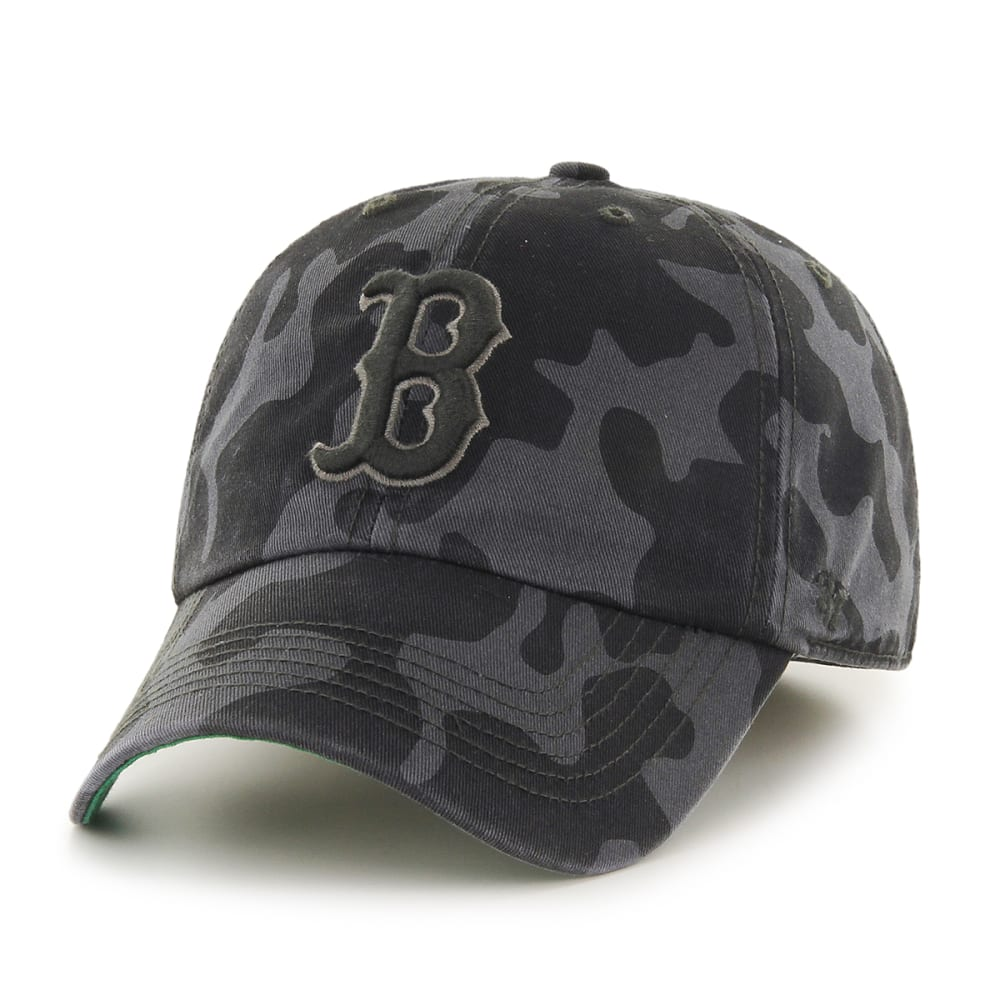 BOSTON RED SOX Flintlock Cap - BLACK/GREY CAMO