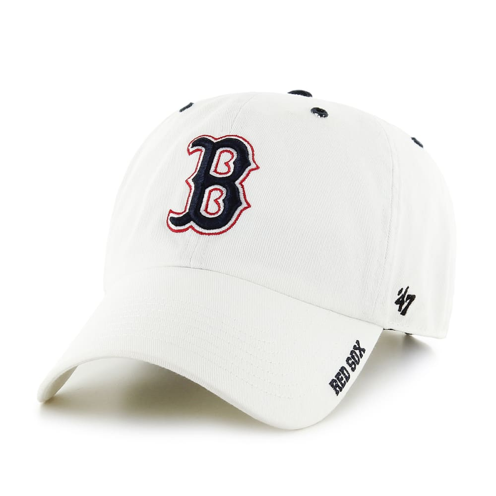 BOSTON RED SOX Men's '47 Ice White Adjustable Cap ONE SIZE
