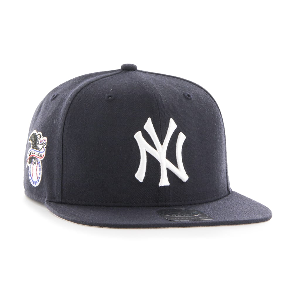 NEW YORK YANKEES Men's '47 Sure Shot Snapback Cap - NAVY