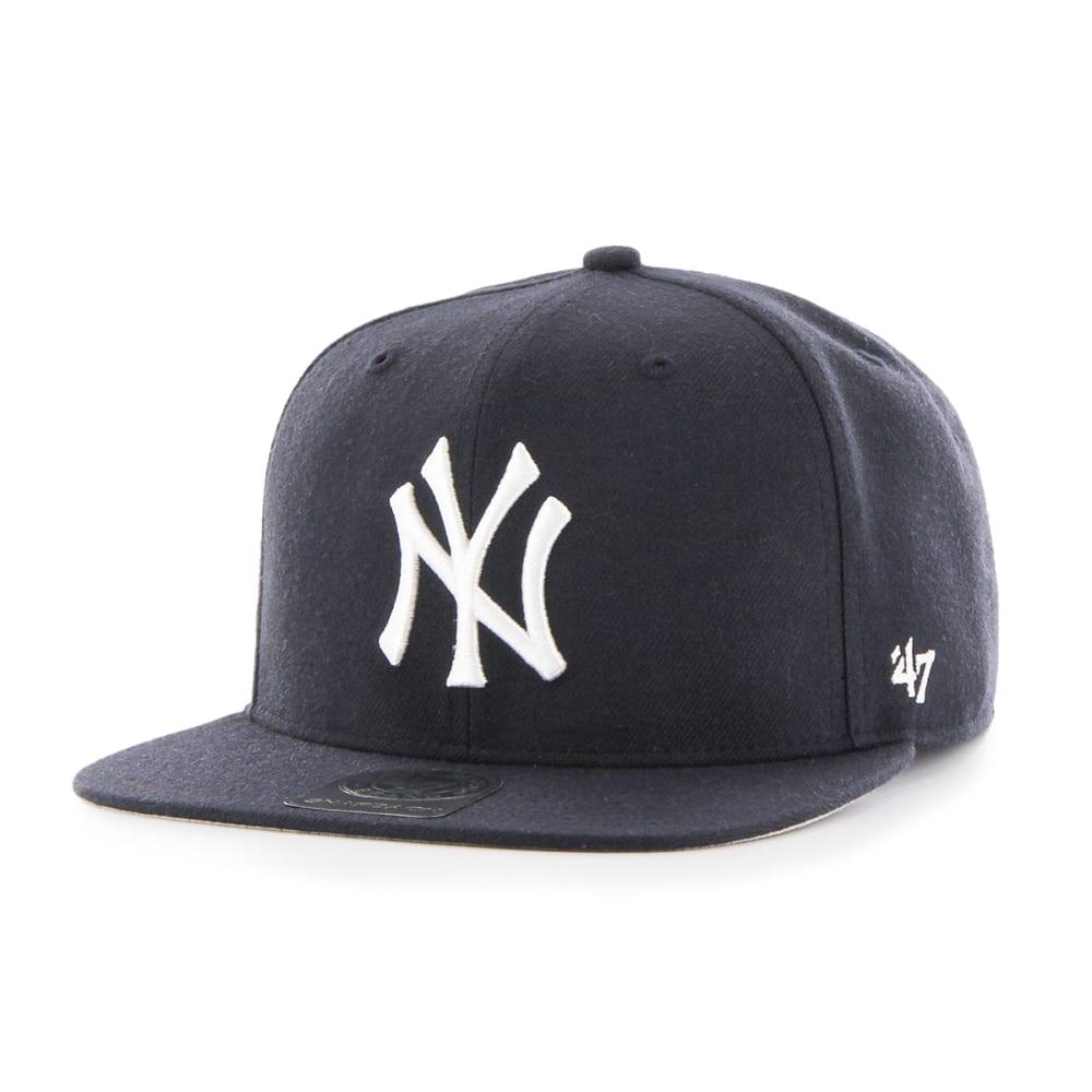 NEW YORK YANKEES Men's '47 Sure Shot Snapback Cap ONE SIZE