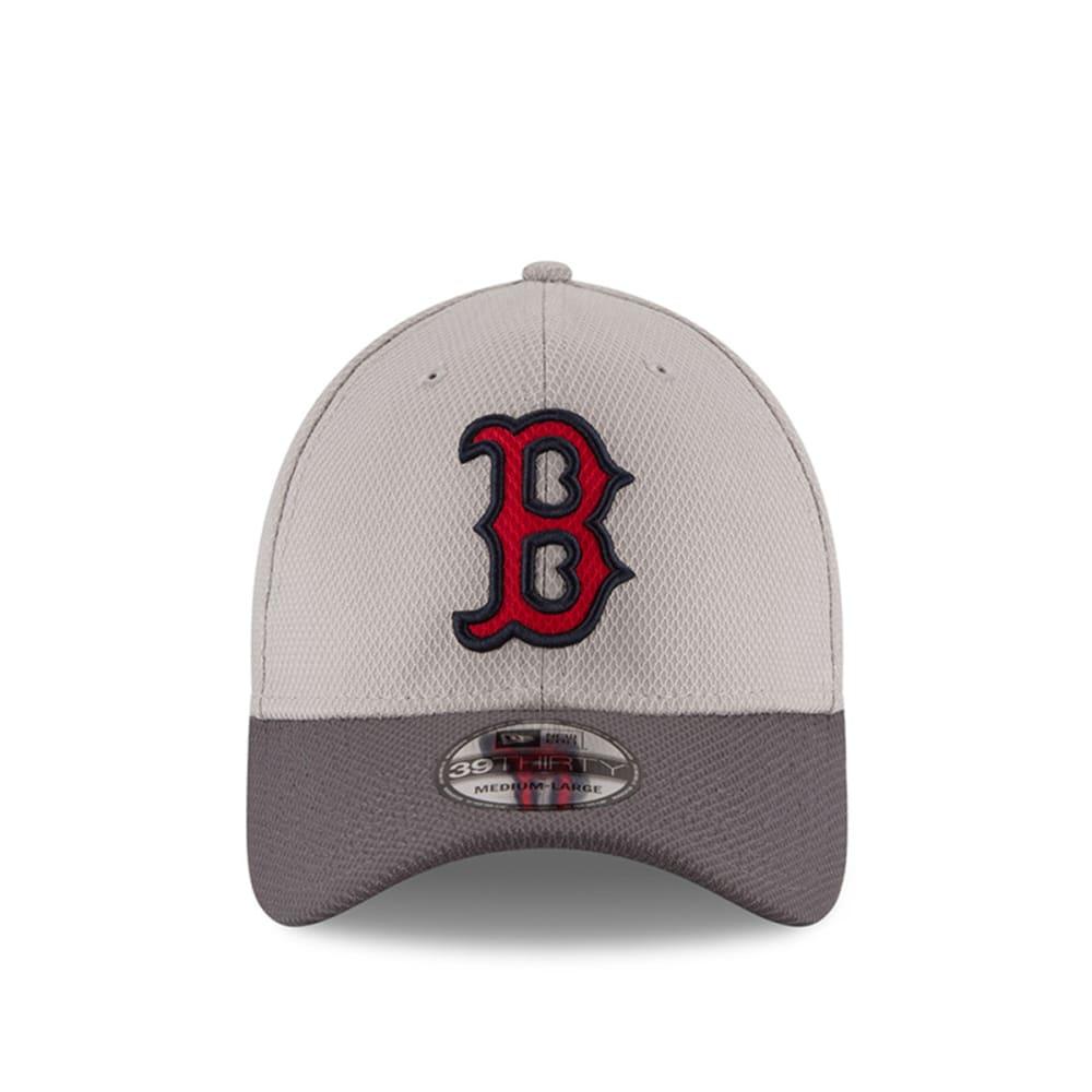 BOSTON RED SOX Team Greyed 39Thirty FlexFit Cap - GREY