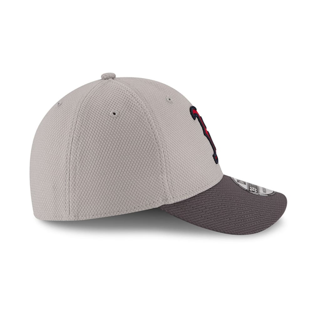 BOSTON RED SOX Team Greyed 39Thirty FlexFit Cap - GREY