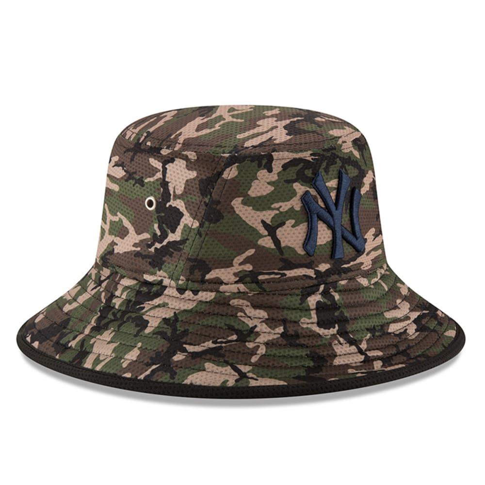 NEW YORK YANKEES Camo Team Bucket Redux Hat - YANKEES