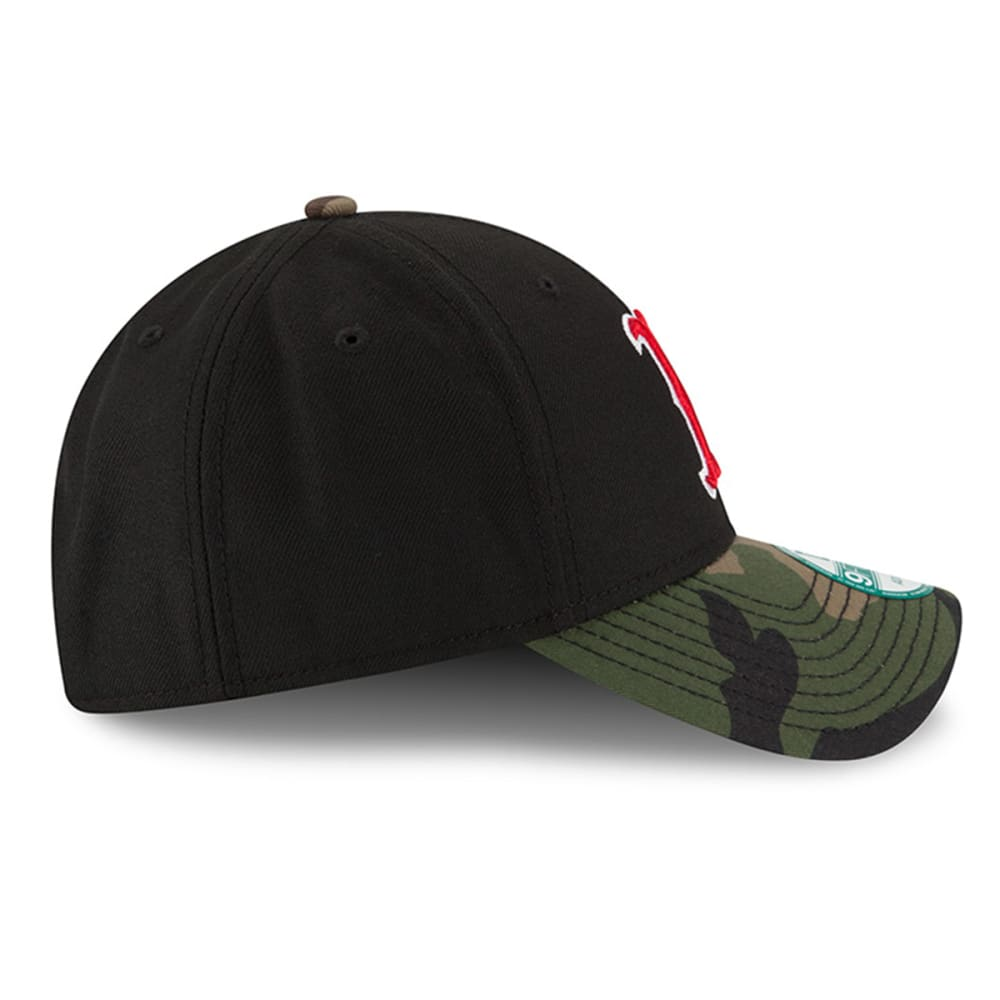 BOSTON RED SOX The League Camo 9FORTY Adjustable Cap - RED SOX