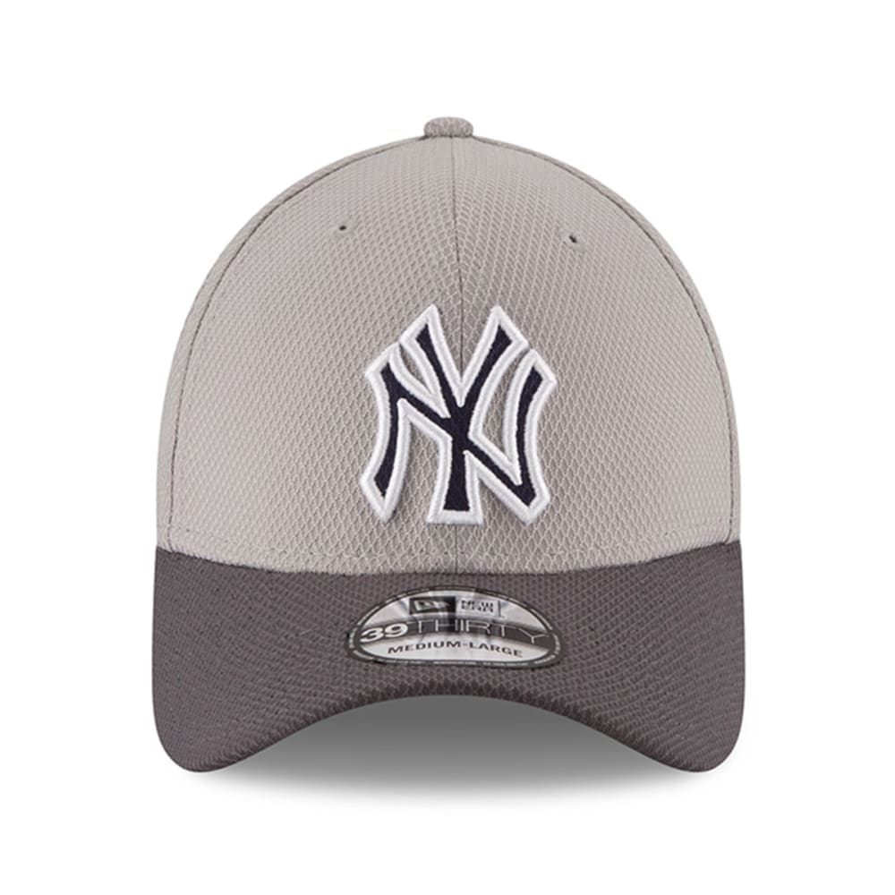 NEW YORK YANKEES Team Greyed 39Thirty FlexFit Cap - YANKEES