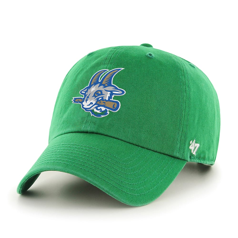 HARTFORD YARD GOATS Men's Kelly '47 Clean Up Adjustable Cap ONE SIZE