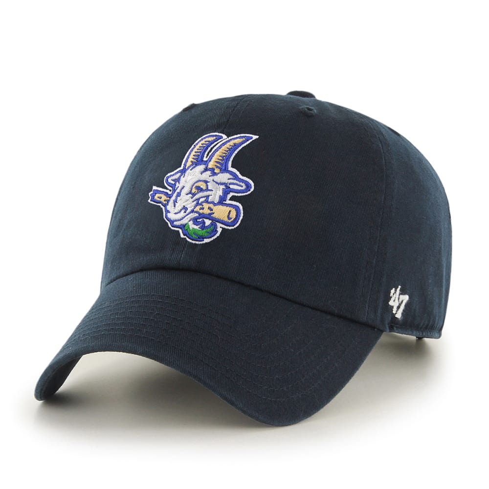 Hartford Yard Goats Men's '47 Clean Up Navy Adjustable Cap