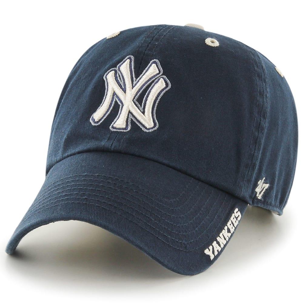 NEW YORK YANKEES Men's '47 Ice Adjustable Hat - NAVY