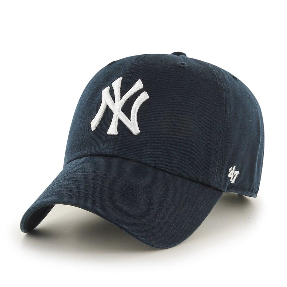 NEW YORK YANKESS Men's Adjustable Hat - NAVY