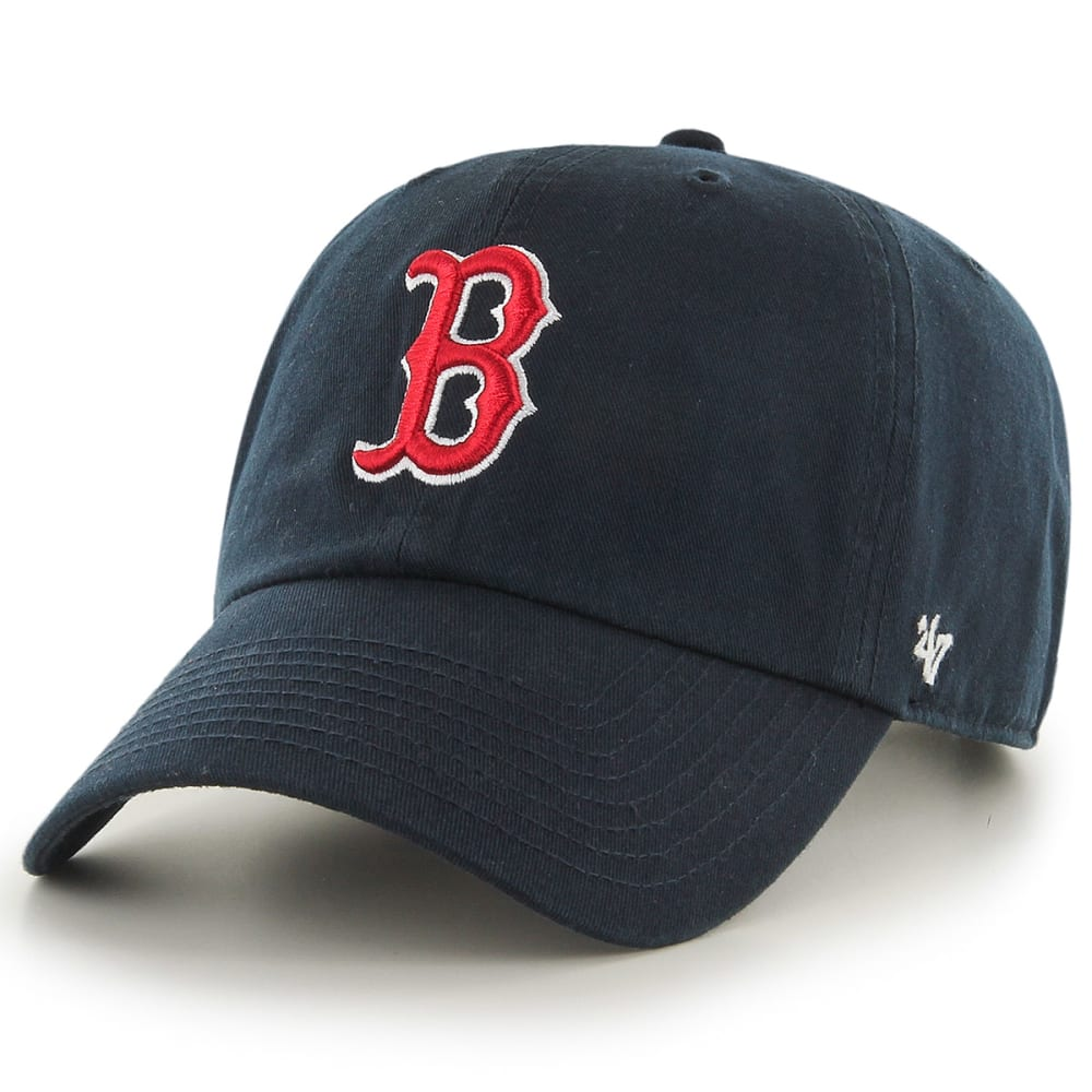 BOSTON RED SOX Men's Raised Garment Hat , NAVY ,hi-res