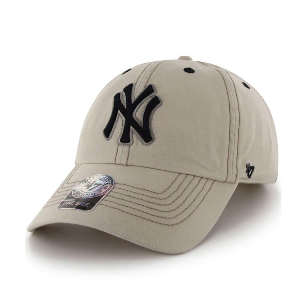 NEW YORK YANKEES Lakeridge Adjustable Cap - NATURAL