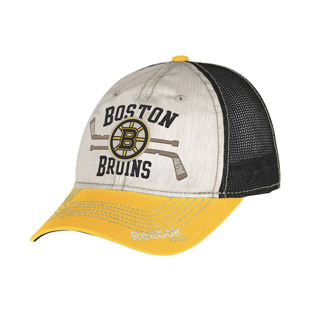 BOSTON BRUINS Slouch Adjustable Hat - ASSORTED