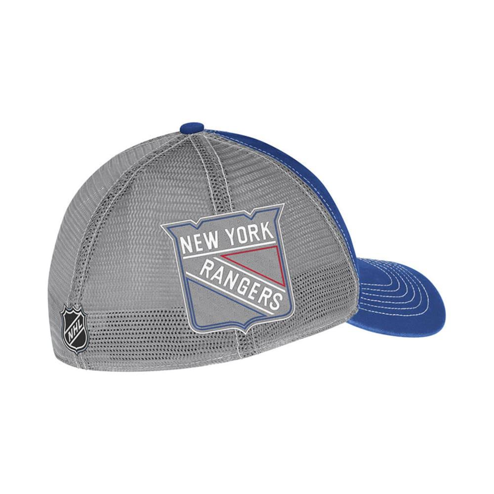 NEW YORK RANGERS Team Slouch Mesh Back Hat - BLUE