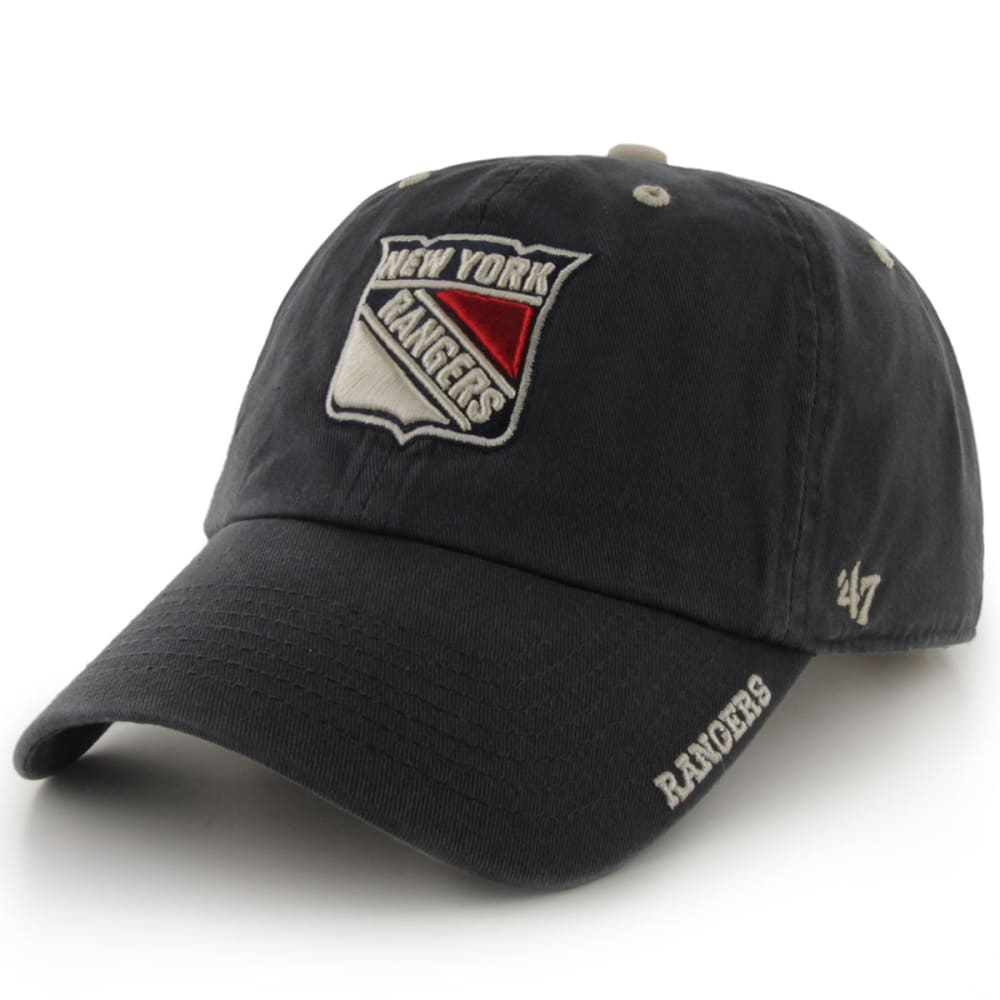 NEW YORK RANGERS Ice Clean up Adjustable Cap - NAVY