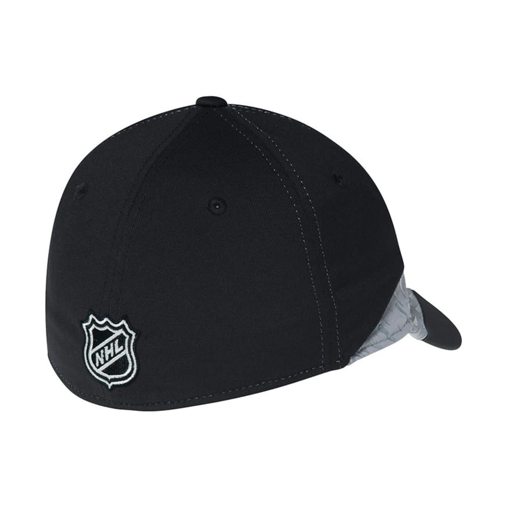 BOSTON BRUINS Practice Black & Gray Flex Fit Hat - BLACK/GREY