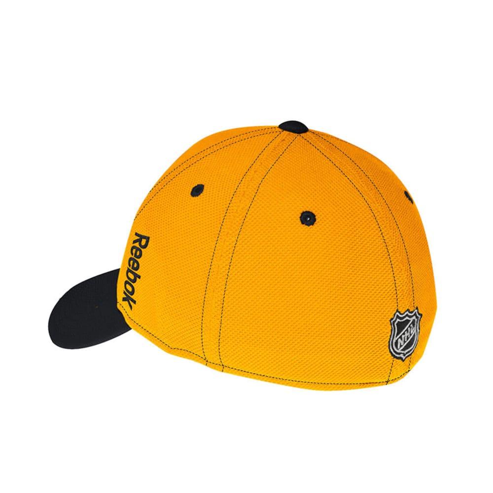 BOSTON BRUINS 2nd Season Structured Flex Fit Hat - BLACK/YELLOW