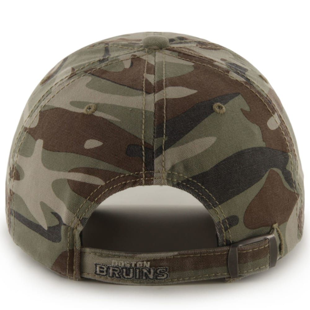 BOSTON BRUINS Men's '47 Tarpoon Camo Adjustable Cap - CAMO