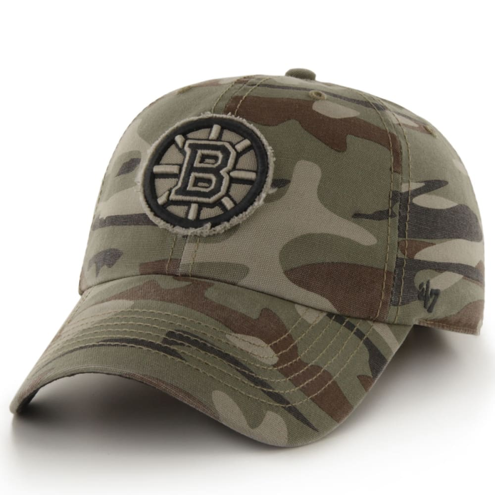 BOSTON BRUINS Tarpoon Camo Adjustable Cap - CAMO