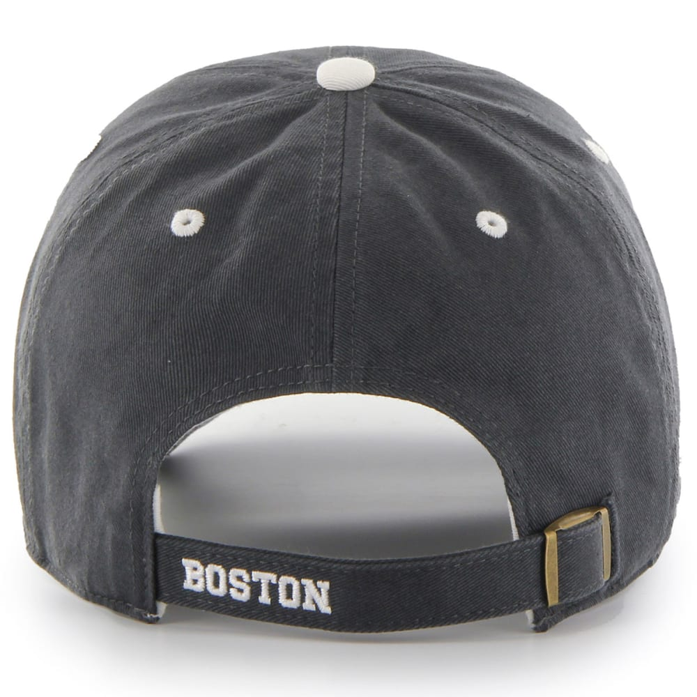 BOSTON BRUINS Ice Adjustable Cap - GRAVEL/RED