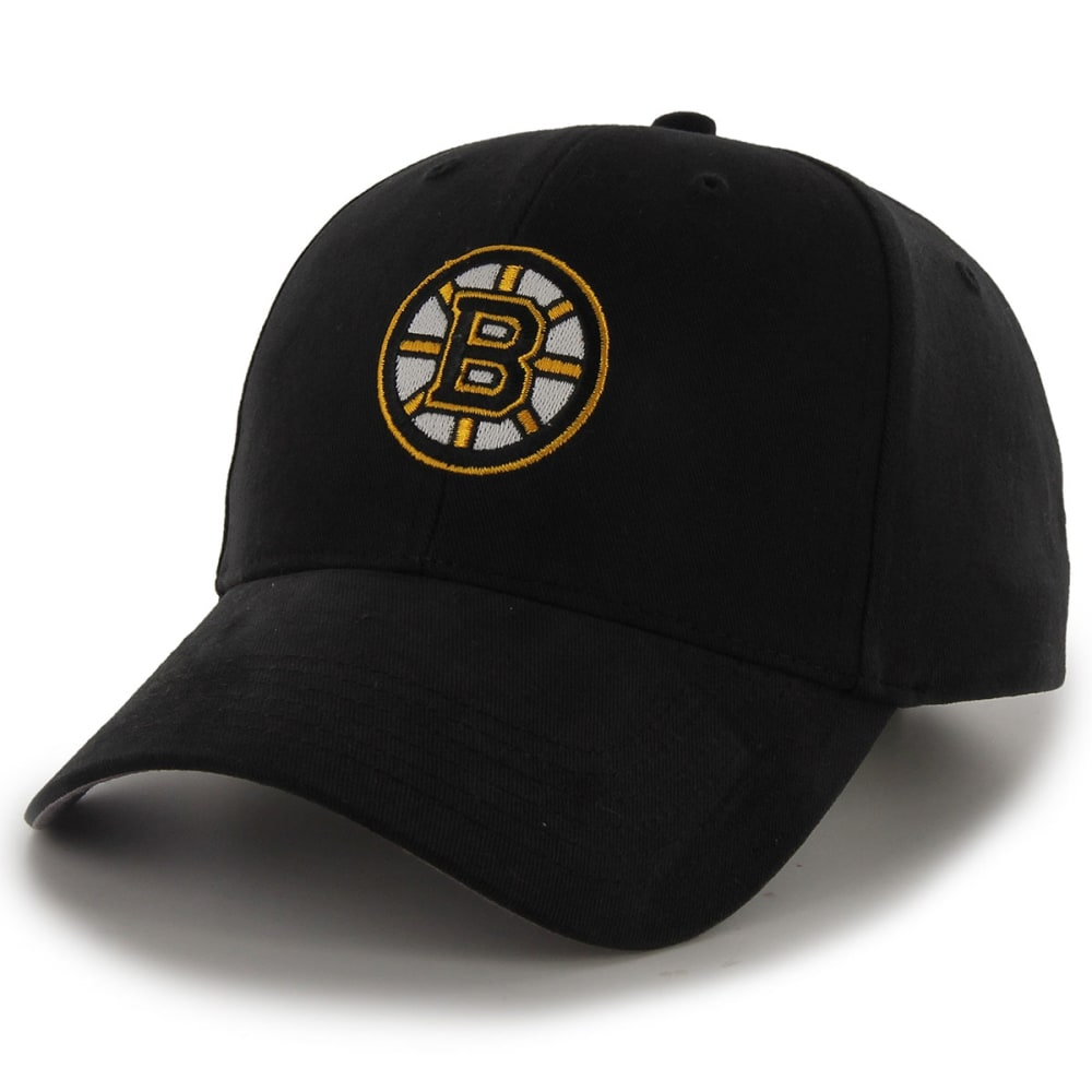 BOSTON BRUINS Kids' Black Adjustable Cap - BLACK