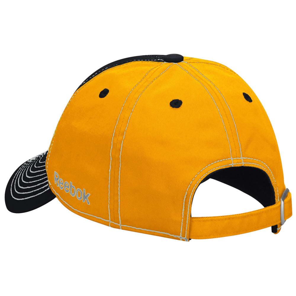BOSTON BRUINS Two Tone Flex Fit Hat - ASPHALT HEATHER/GRAP