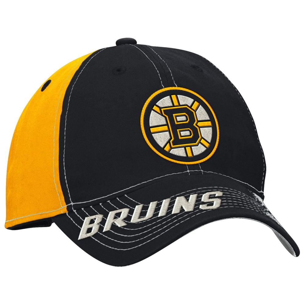 BOSTON BRUINS Two Tone Flex Fit Hat - ASPHALT HEATHER/GRAP
