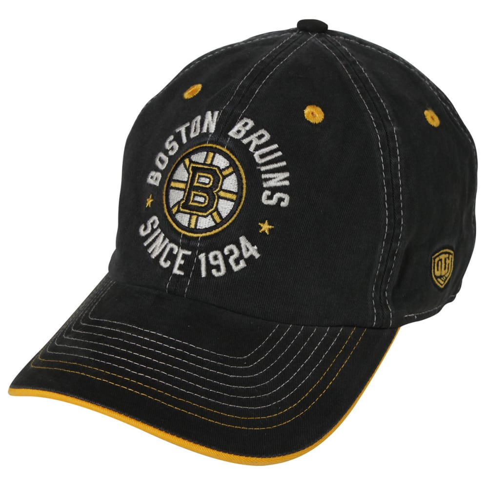 BOSTON BRUINS Clark Adjustable Cap - BLACK/YELLOW