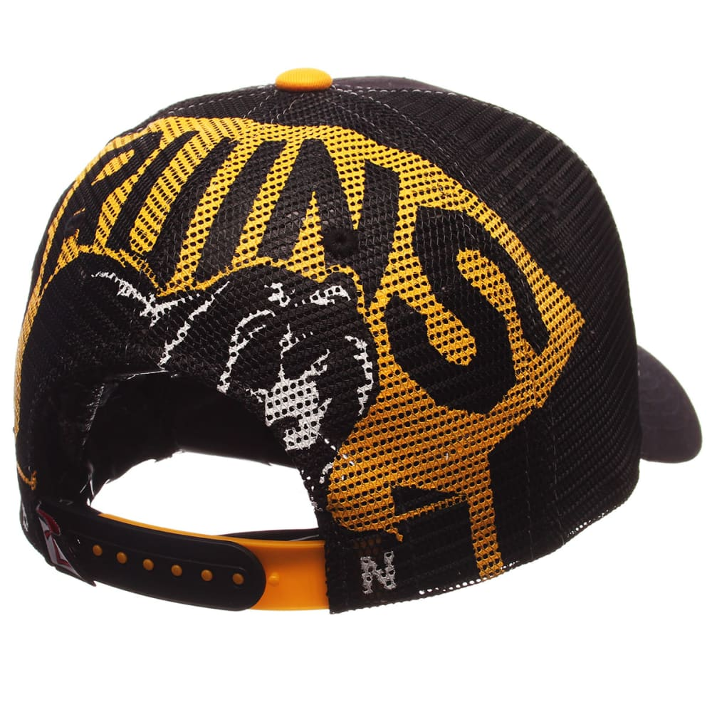 BOSTON BRUINS Screenplay Adjustable Cap - BLACK/YELLOW