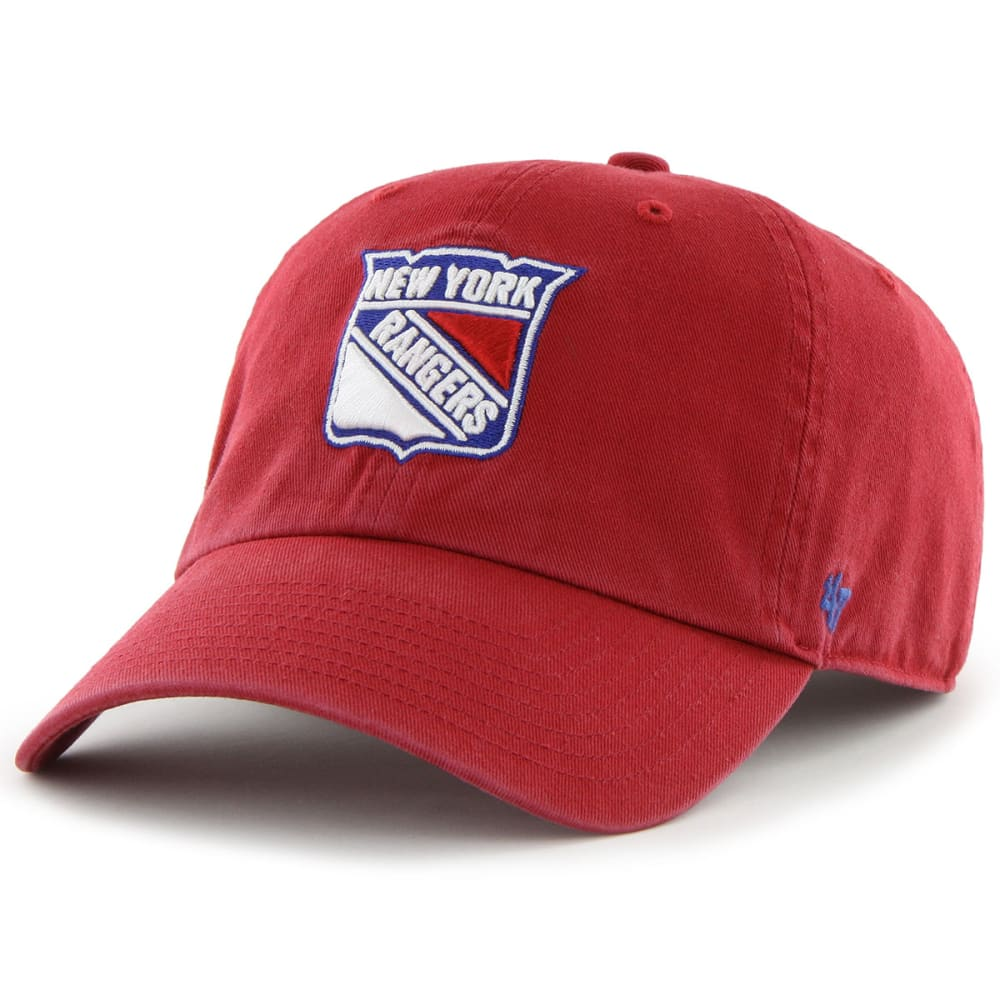 New York Rangers 47 Clean Up Adjustable Cap