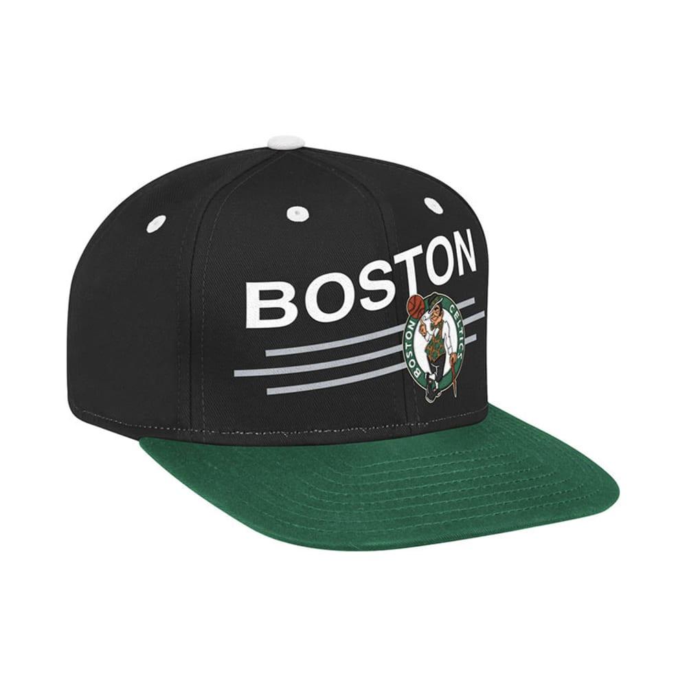 BOSTON CELTICS Flat Brim Snapback Hat - ASSORTED