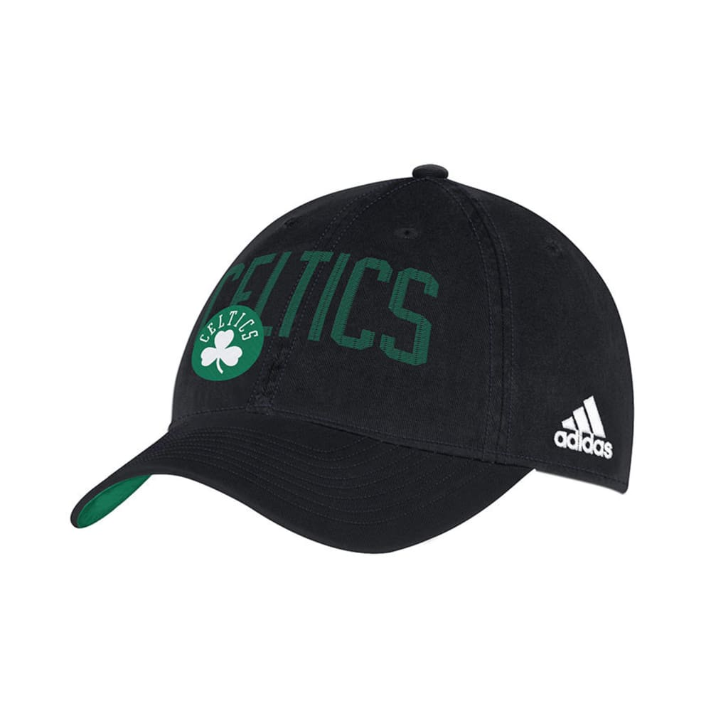 BOSTON CELTICS Adjustable Hat - BLACK