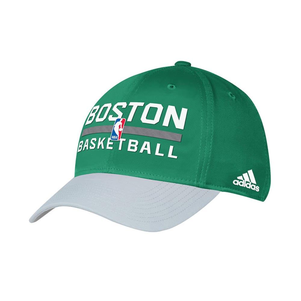 BOSTON CELTICS Authentic Practice Flex Fit Hat - GREEN