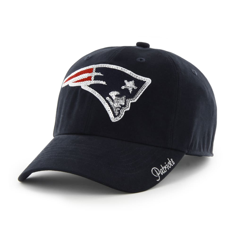 NEW ENGLAND PATRIOTS Women's Sparkle Cap - NAVY